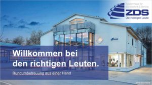 ZDS Bürosysteme GmbH: Powerpoint Präsentation 2020