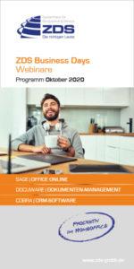 ZDS Business Days: Webinare, Oktober 2020